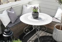 I love terrace / #terrace#ideas#balcony