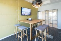 London Office Design / Some office design inspiration from London Workplaces
