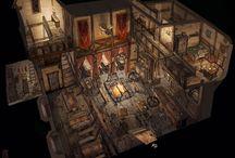 intérieur medieval