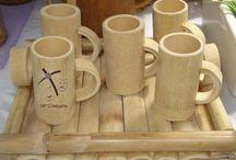 Gelas bambu