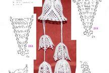 háčkované zvonky