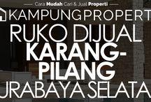 Ruko Dijual / Disewakan di Surabaya Selatan