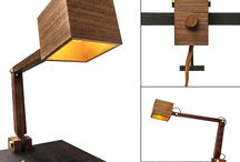 Grab Lighting / #lighting #craft #wood #leather #brass