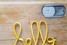 Les mots en tissu d'1,2,3 p'tits pois / Retrouvez tous les mots en tissu sur la boutique en ligne : www.etsy.com/shop/123ptitspois