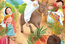 ilustraciones bíblicas para niños / by Betsabé Martha Vílchez M. de Bardales