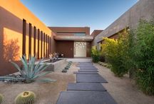 Colored Concrete Walkways and Patios / Beautiful examples of walkways and patios that were created using Davis Colors concrete pigments