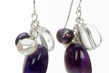 Birthstone for February - Amethyst / This regal coloured gemstone with rich purples is very popular and perfect to bring some colour to February!  Did you know it was even believed to prevent drunkeness!