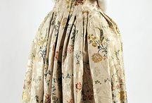 1700-1750 - Extent Baroque to Rococo Garments