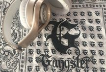 The G Series Rose Gold / #Gangster Headphones G Series Gold