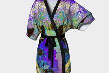 Kimono Robes / Fine Art Kimono Robes from original photography