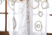 Filz Vorhänge _ felt curtains