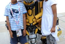 Transformers at Woking / On Wednesday 30th July, Bumblebee and Optimus Prime made an appearance at Woking Shopping as part of the Kids Club.