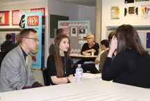 BDMA Work Experience Launch / Last night BDMA students discussed work experience on offer with our partners, including Ricochet, Latest TV, Pragmatic, Site Visibility,Thoughtshift, Propellernet, Jollywise, Brightwave and Urban Flo.