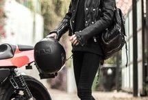 Leather, latex & metal