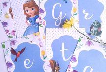 Cumpleaños de Princesa Sofía