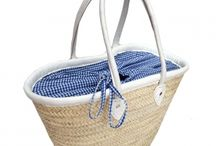 wicker baskets with fabric interior