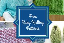 Knitting - multiple baby patterns