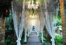 Wedding Design Inspiration / Ideas and inspiration for beautifully decorated weddings.