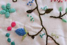 bordado con lana en casa