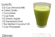 Detox Juice Smoothie Tea Water