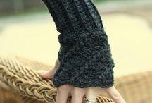 crochet mittens/wrist warmers / by Kristin Baule