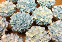 Hortensia cupcakes