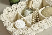 Crochet kitchen and storage
