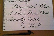 Calligraphy :D