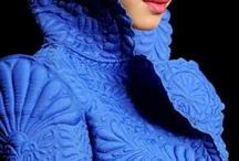 quilted garments and embellished