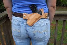 Gun phone holster