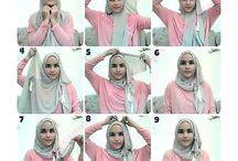 tutorial simple hijab
