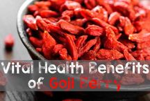 Goji Berry Health Information / #Goji Berries are considered by many to be a #superfruit. This board contains all information related to #goji berry including the many #healthbenefits.