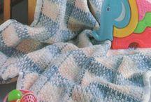 easy crochet cot blanket