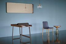 NINA MAIR Cypris Mirror | Furniture Design / Cypris Mirror | Brass | designed by Nina Mair for Classicon | see at: www.ninamair.at |
