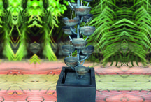 Zinc Metal Modern Water Features / Fabulous new zinc metal garden water features, all self contained and really easy to install.  http://www.ukwaterfeatures.com/Shop/Water-Features/Water-Features/Zinc-Metal-Water-Features.html