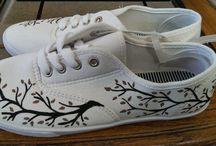 kreslené boty