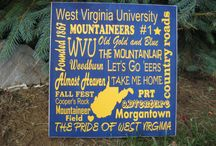 WVU / by Trista Crawford