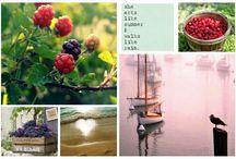 Mood boards...photography...calendar ideas