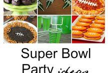Superbowl + hockey food