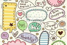 lettering♥♡