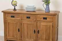 Sideboards and Cabinets for your Living Room! / Sideboards, small, mediu and large, oak and pine sideboards...