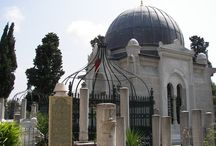 Cementerios y tumbas / Cementerios y tumbas de personajes ilustres de Estambul