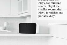 Sonos Music System / Pins about the Sonos Music System from H3 Digital in Thailand.