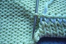 ourlet tricot