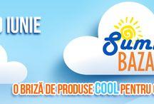 Summer Bazar la ROMEXPO / Summer Bazar, 27 – 29 iunie. Va invitam la Summer Bazar – Targul estival de bunuri de larg consum, un eveniment plin de inspiratie in care puteti face cumparaturi si va puteti relaxa participand la diverse activitati in aer liber. / by Romexpo Bucuresti
