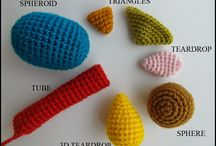 amigurumi forme - shapes