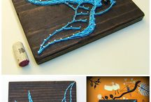 string art stuff <3