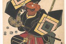 Japan old prints art