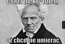 funny Schopenhauer/czarny humor
