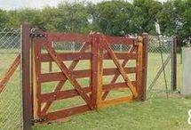 Tranqueras y puertas